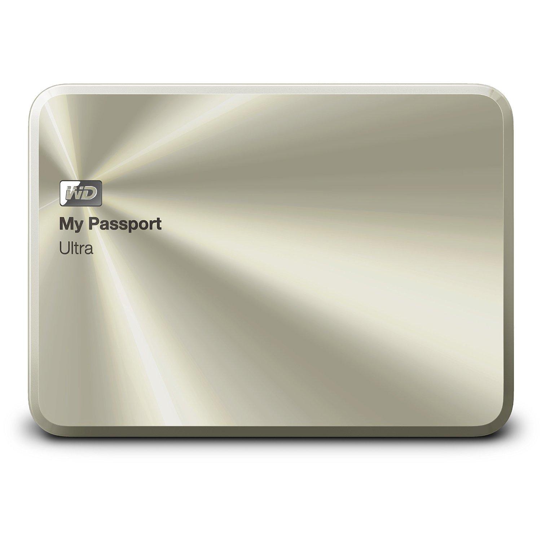 Ổ cứng di động Western Digital Ultra Metal 1Tb USB3.0 Vàng (Vỏ bằng kim loại)