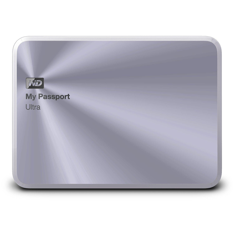 Ổ cứng di động Western Digital Ultra Metal 1Tb USB3.0 Bạc (Vỏ bằng kim loại)
