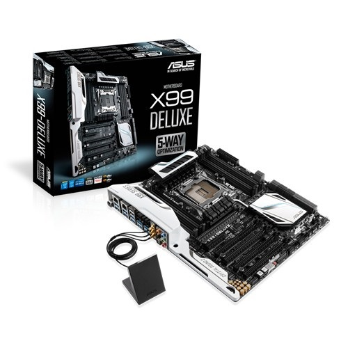 Asus X99-Deluxe (Chipset Intel X99/ Socket SK2011-3/ VGA onboard)