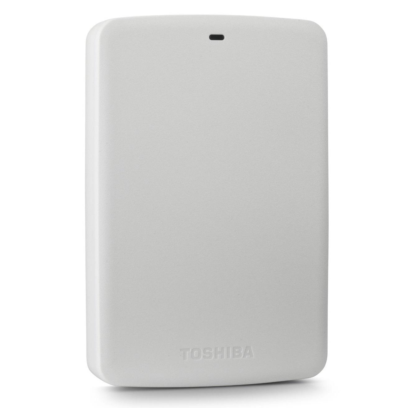 Ổ cứng di động Toshiba Canvio basic 500Gb USB3.0 Trắng