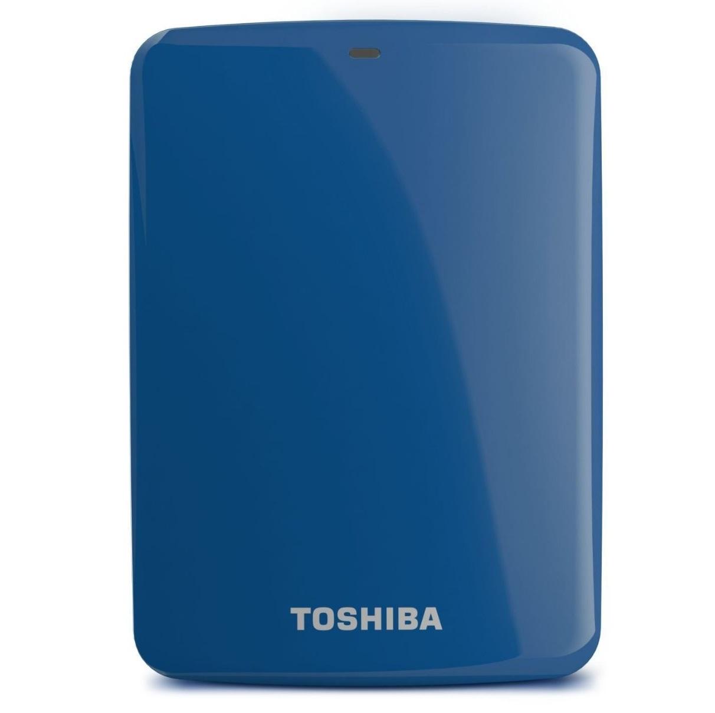 Ổ cứng di động Toshiba Canvio connect 2Tb USB3.0 Xanh