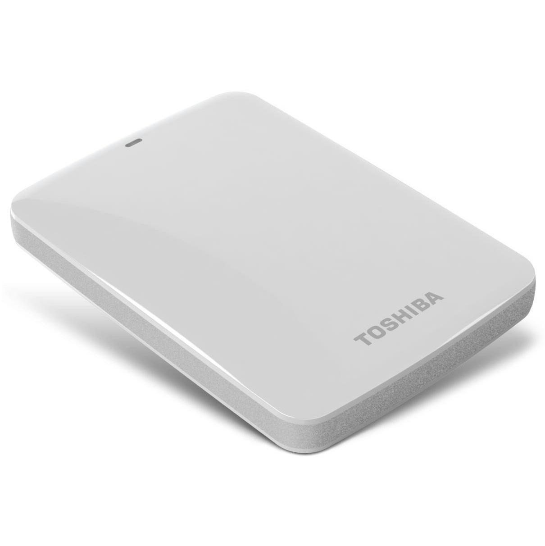 Ổ cứng di động Toshiba Canvio connect 2Tb USB3.0 Trắng