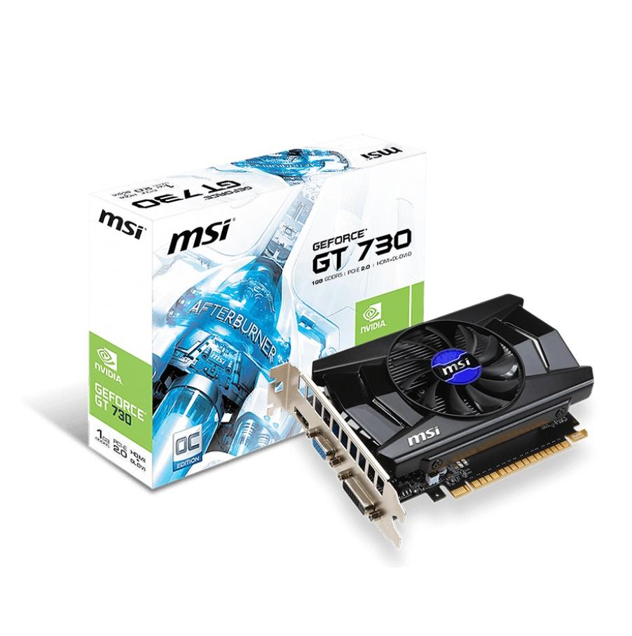 MSI N730K-1GD5/OC (Geforce GT730/ 1Gb/ DDR5/ 64Bit)