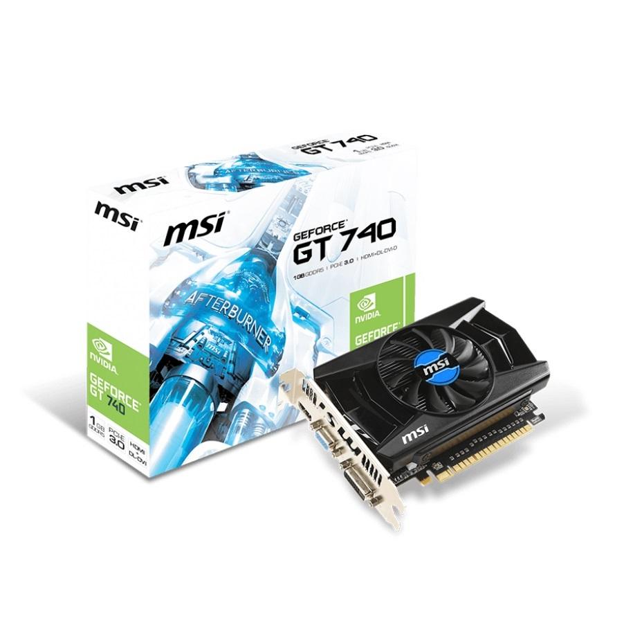 MSI N740-1GD5 (Geforce GT740/ 1Gb/ DDR5/ 128Bit)
