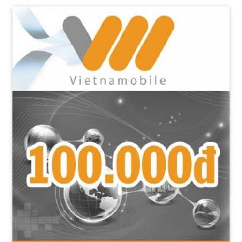 Thẻ điện thoại Vietnamobile 100.000 đồng