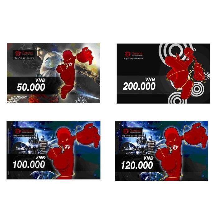 Thẻ game Garena 50.000 đồng