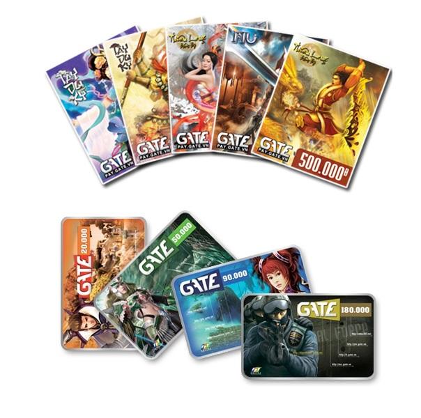 Thẻ game GateFPT 500.000 đồng