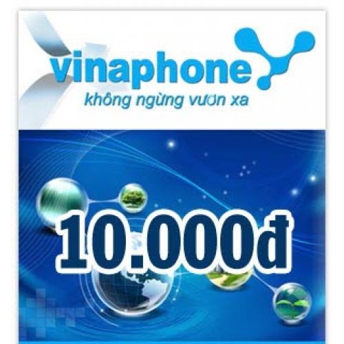 Thẻ điện thoại Vinaphone 10.000 đồng