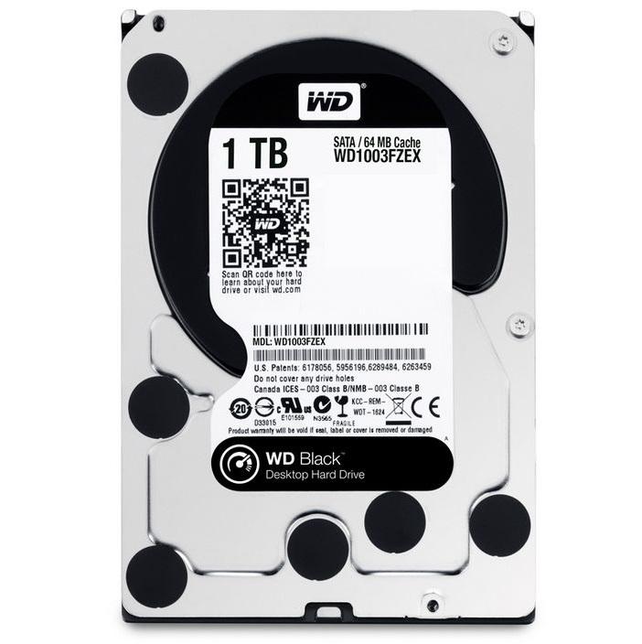Kết quả hình ảnh cho đánh giá HDD WD 1TB Black 7200Rpm