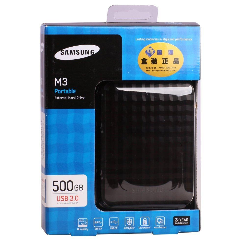 Ổ cứng di động Samsung Portable M3 500Gb USB3.0 Đen