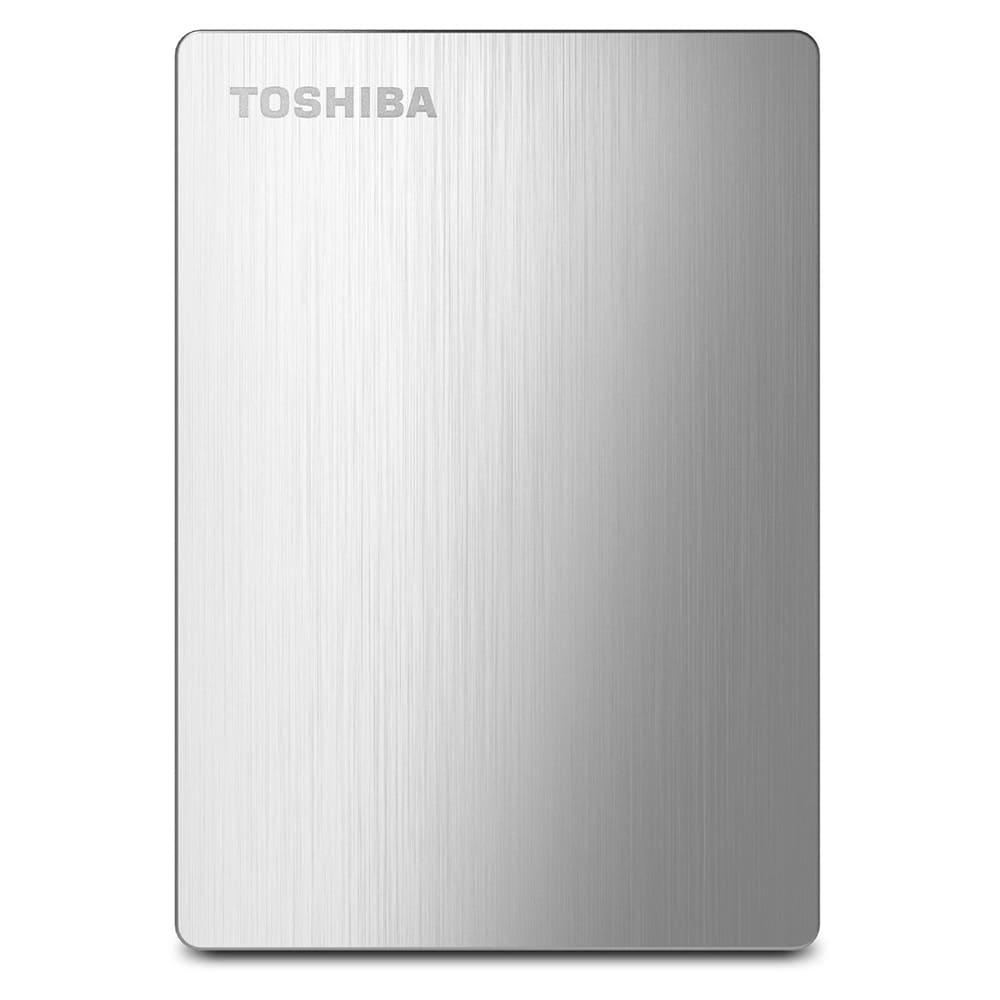 Ổ cứng di động Toshiba Canvio Slim 1Tb USB3.0 Bạc