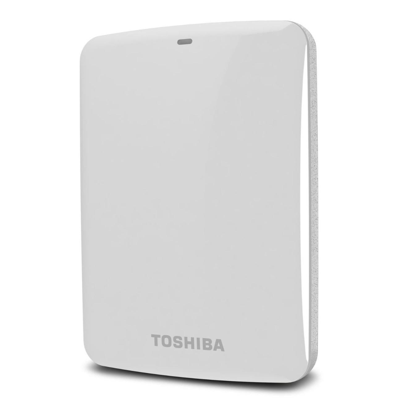 Ổ cứng di động Toshiba Canvio connect 1Tb USB3.0 Trắng