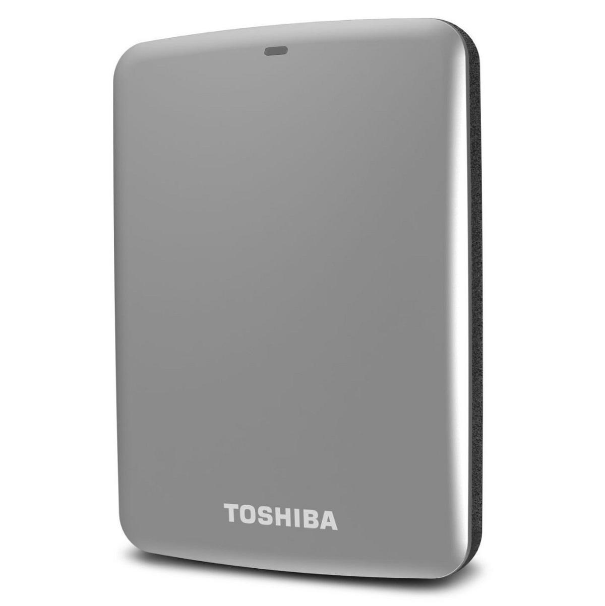 Ổ cứng di động Toshiba Canvio connect 1Tb USB3.0 Bạc