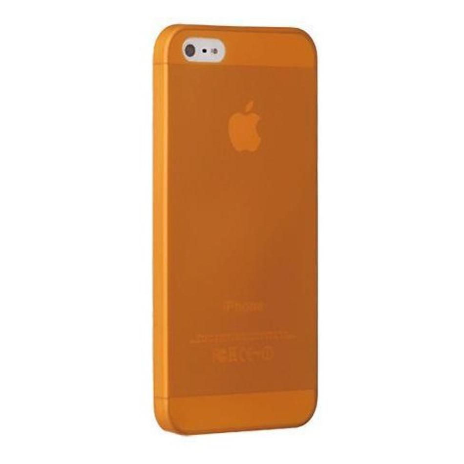 Ốp lưng điện thoại DĐ IPhone 5/5S Ozaki Jelly (Cam)