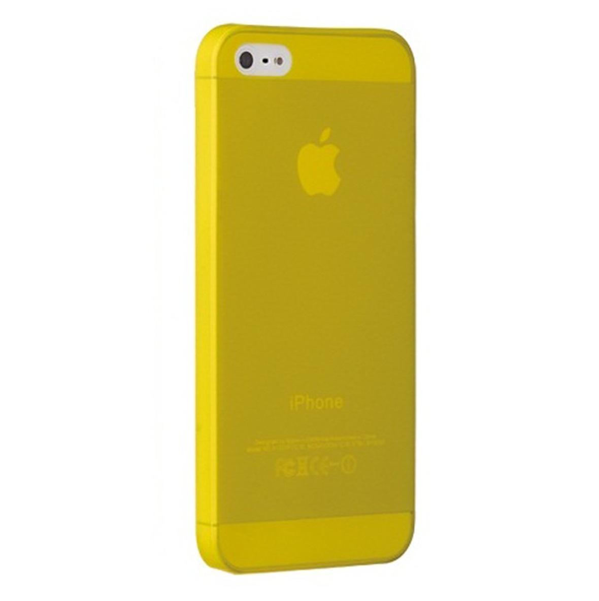 Ốp lưng điện thoại DĐ IPhone 5/5S Ozaki Jelly (Vàng)
