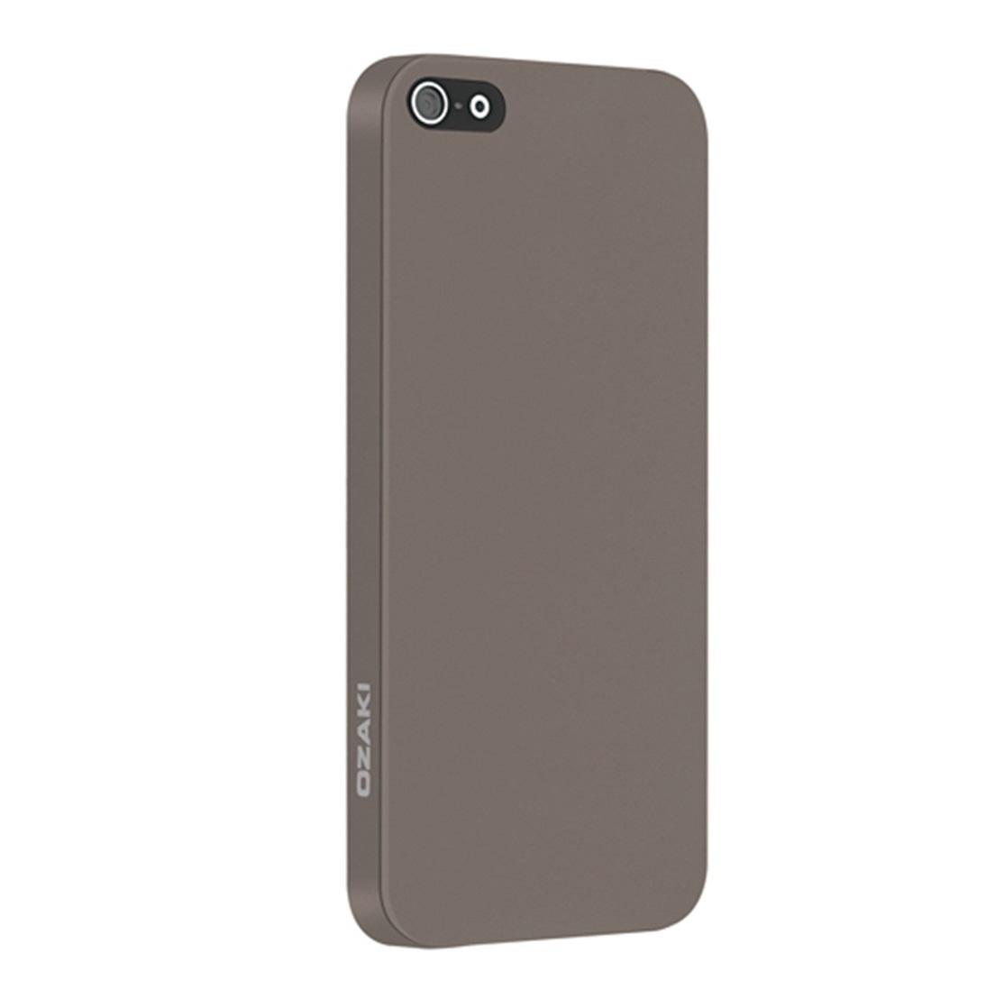 Ốp lưng điện thoại DĐ IPhone 5/5S Ozaki Solid (Ghi)