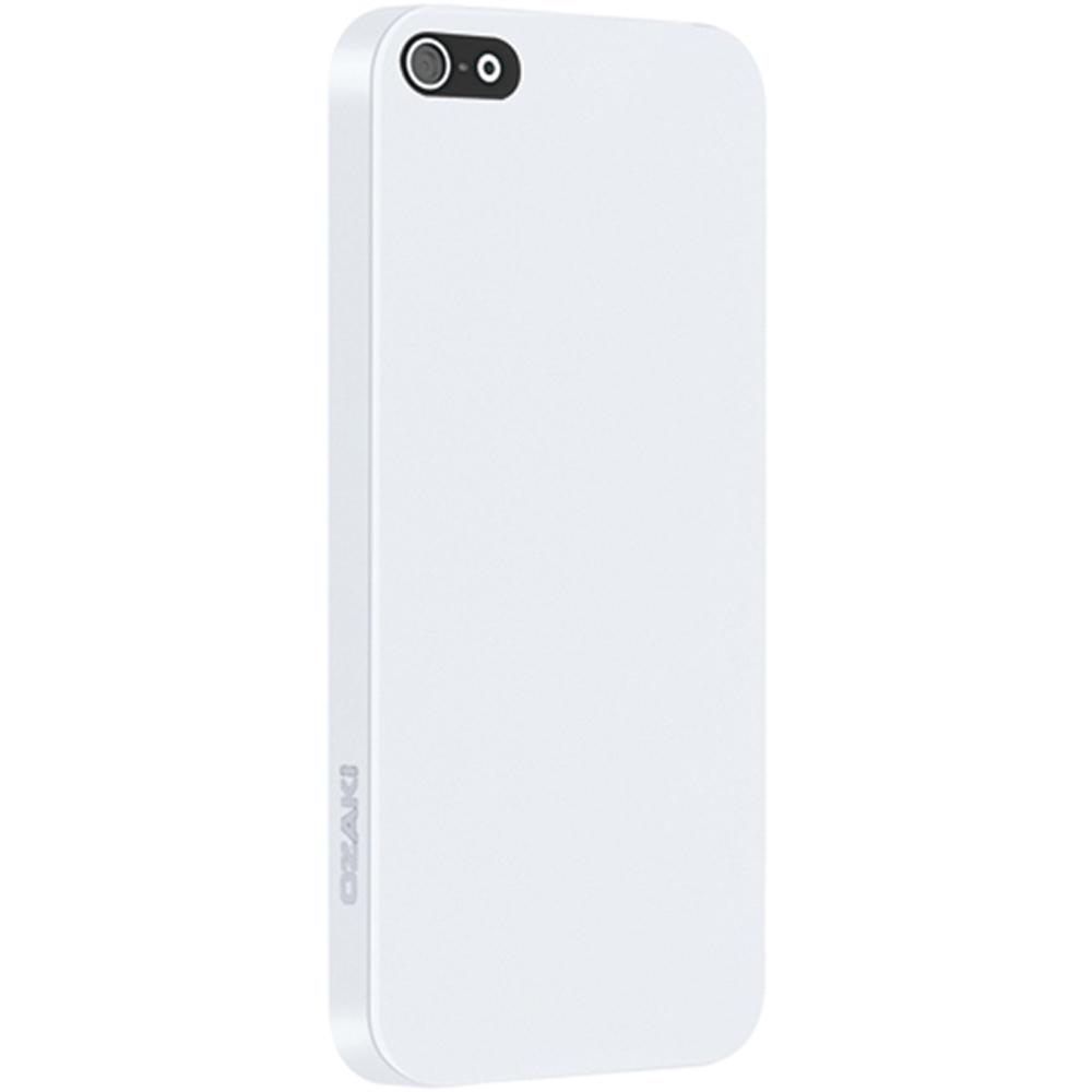 Ốp lưng điện thoại DĐ IPhone 5/5S Ozaki Solid (Trắng)
