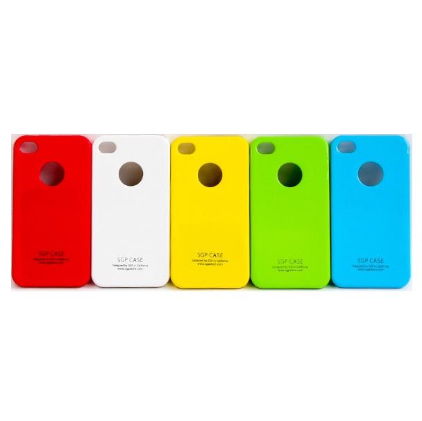 Ốp lưng điện thoạii DĐ IPhone 5/5S SGP (Trắng)