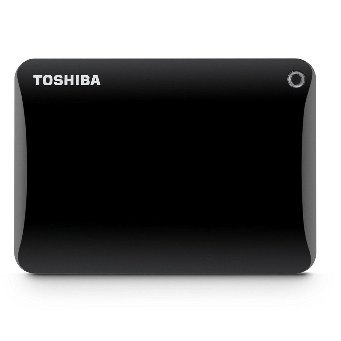 Ổ cứng di động Toshiba Canvio connect II 1Tb USB3.0 Đen