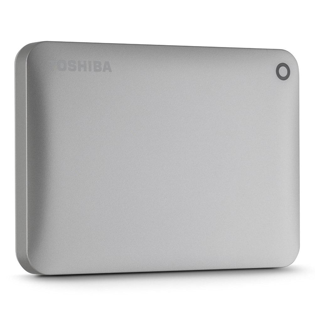 Ổ cứng di động Toshiba Canvio connect II 1Tb USB3.0 Vàng
