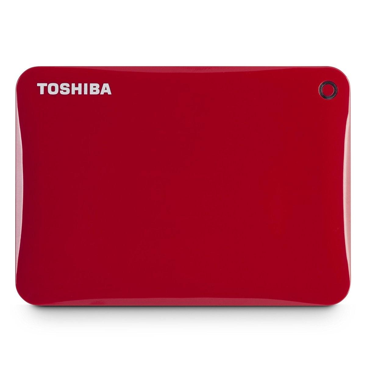 Ổ cứng di động Toshiba Canvio connect II 1Tb USB3.0 Đỏ
