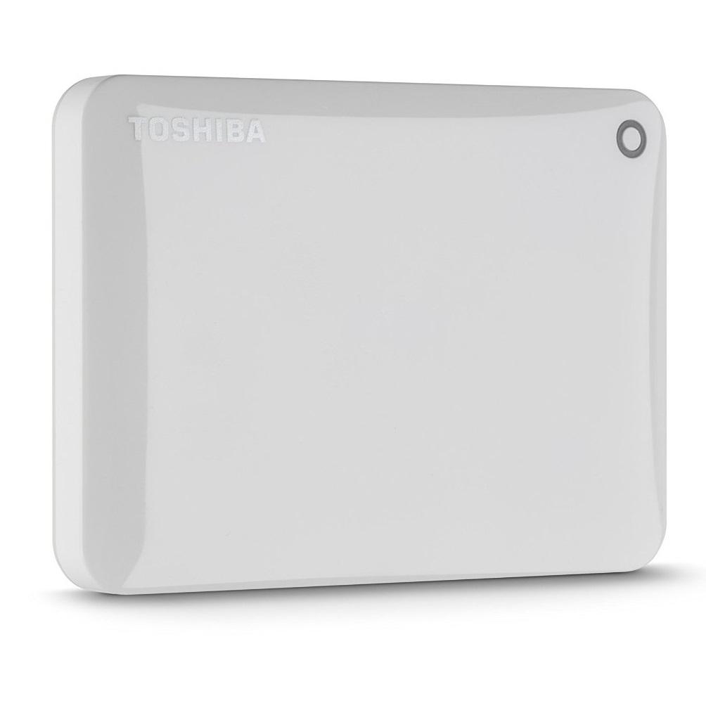 Ổ cứng di động Toshiba Canvio connect II 1Tb USB3.0 Trắng