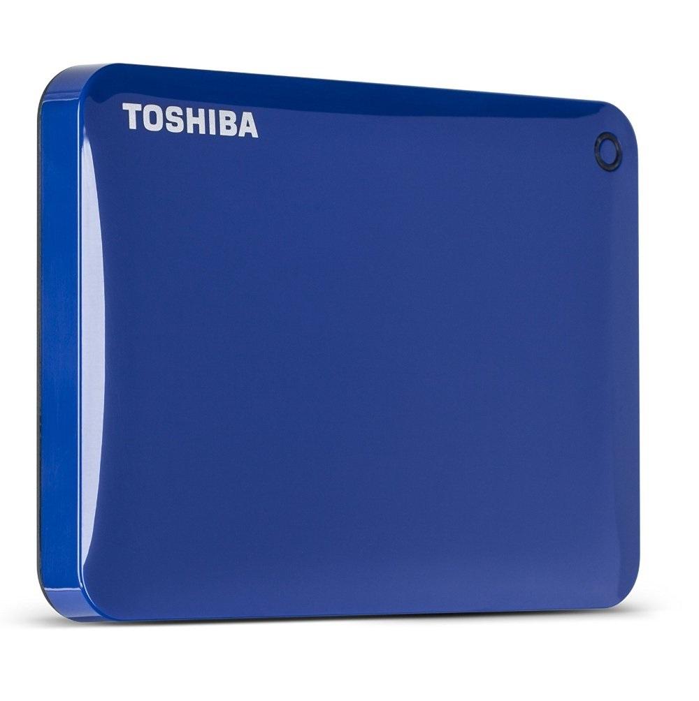 Ổ cứng di động Toshiba Canvio connect II 2Tb USB3.0 Xanh