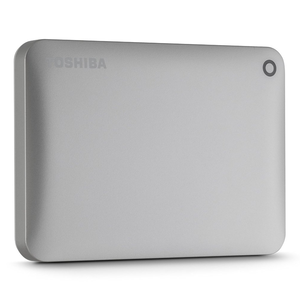 Ổ cứng di động Toshiba Canvio connect II 500Gb USB3.0 Vàng
