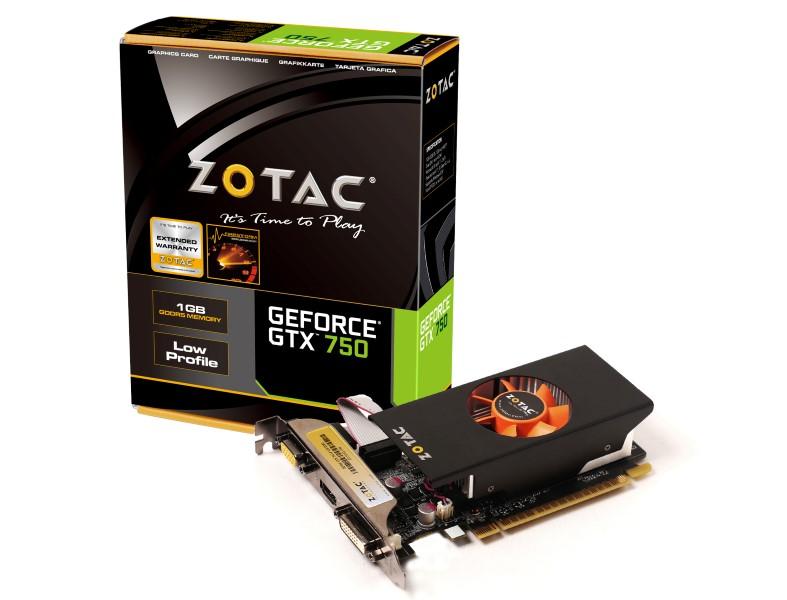 Zotac GTX750-1GD5 (Geforce GTX750/ 1Gb/ DDR5/ 128Bit)