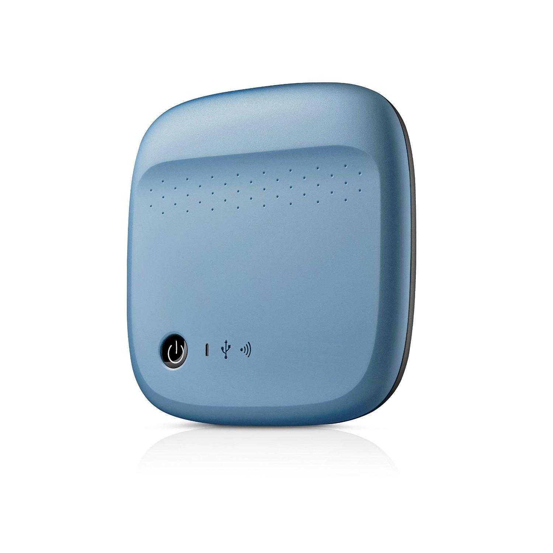 Ổ cứng di động Seagate Wireless Mobile 500Gb USB3.0 Xanh