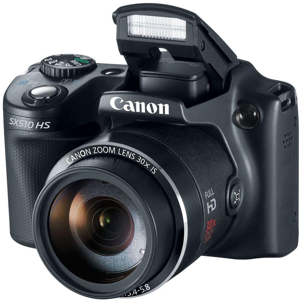 Máy ảnh KTS Canon SX510HS - Black
