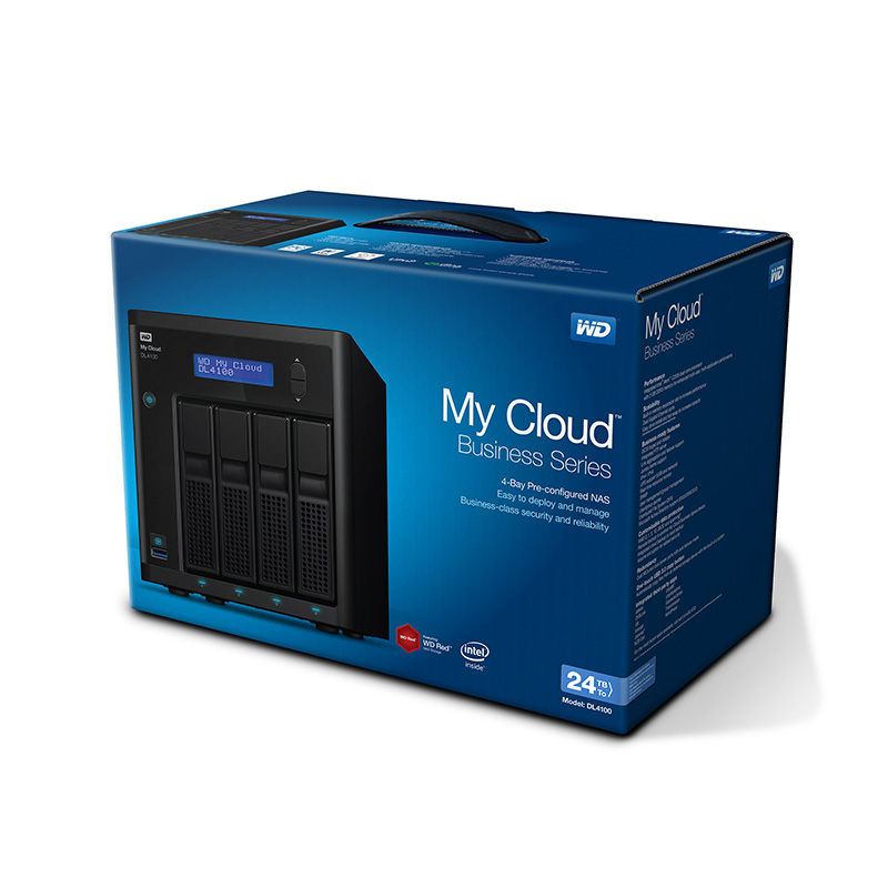 Ổ lưu trữ mạng Western Digital My Cloud DL4100 24Tb