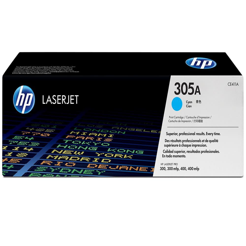 Mực hộp máy in laser HP CE411A - Dùng cho máy HP CE410A cho may HP LaserJet Pro M451/M475/ M375nw  xanh Crtg