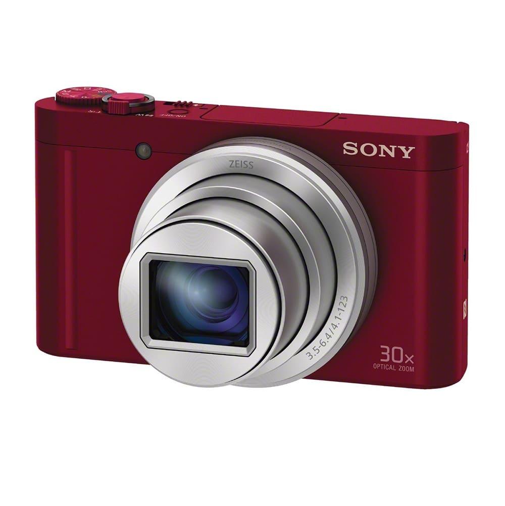 Máy ảnh KTS Sony CyberShot DSC-WX500 - Đỏ