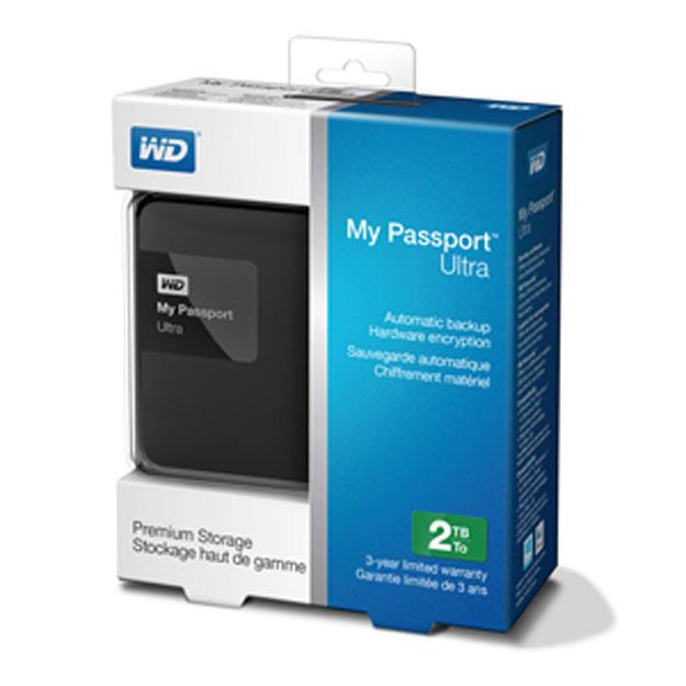 Ổ cứng di động Western Digital Ultra 3Tb USB3.0 Đen