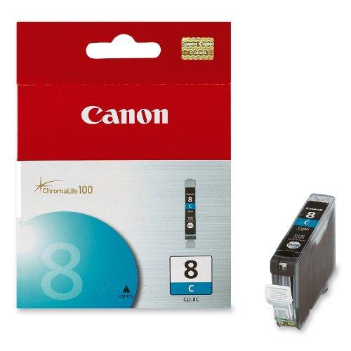 Mực hộp máy in phun Canon CLI8C - Dùng cho máy in Canon iP 3300, iP 3500, iP 4200, iP 4300, iP 4500, iP 5200, iP 5300, iP 6600D, iP 6700D, iX 4000, iX 5000, Pro 9000, MP 500, MP 510, MP 520, MP 530, MP 610, MP800, MP830/810, MP 970, MP 600, MX