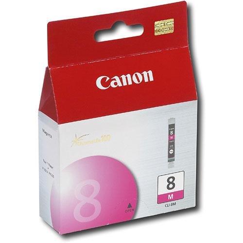 Mực hộp máy in phun Canon CLI8M - Dùng cho máy in Canon iP 3300, iP 3500, iP 4200, iP 4300, iP 4500, iP 5200, iP 5300, iP 6600D, iP 6700D, iX 4000, iX 5000, Pro 9000, MP 500, MP 510, MP 520, MP 530, MP 610, MP800, MP830/810, MP 970, MP 600, MX