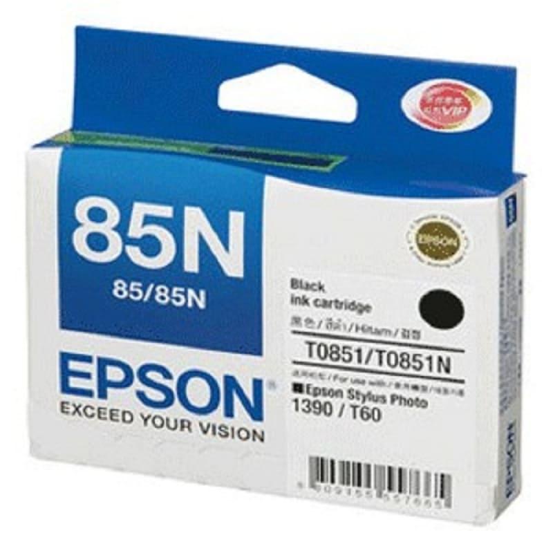 Mực hộp máy in phun Epson T0851N - Dùng cho máy in Epson T60/1390