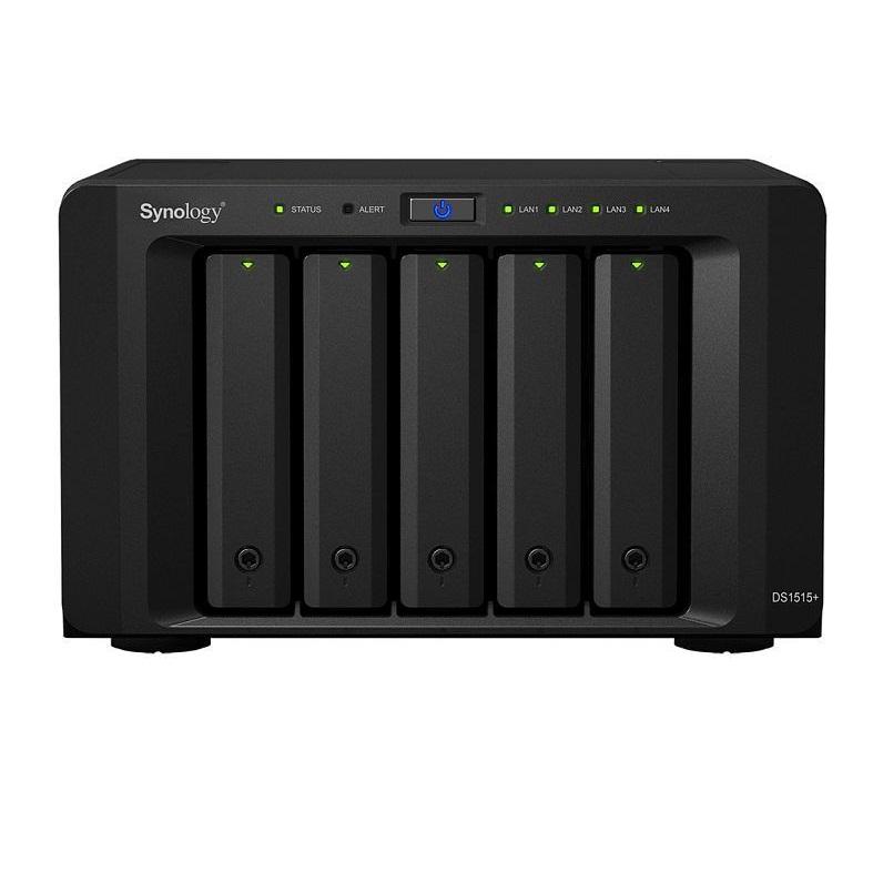 Ổ lưu trữ mạng Synology DS1515+ (chưa có ổ cứng)