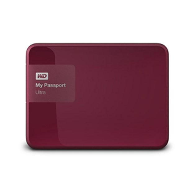 Ổ cứng di động Western Digital Ultra 1Tb USB3.0 New- Đỏ mận