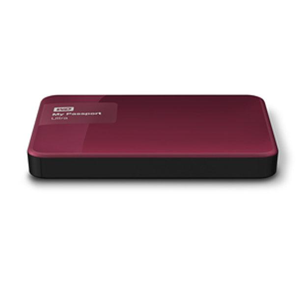 Ổ cứng di động Western Digital Ultra 2Tb USB3.0 New- Đỏ mận