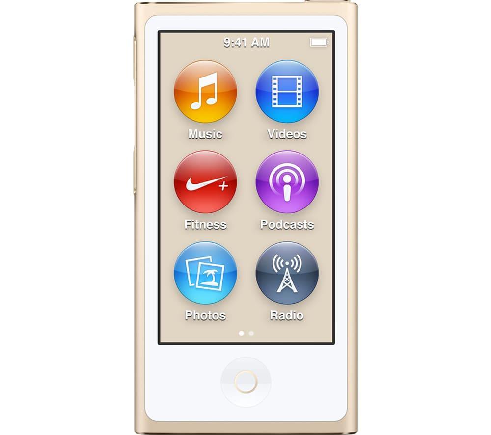 Máy nghe nhạc Apple Ipod Nano 16Gb - Gold (2015)