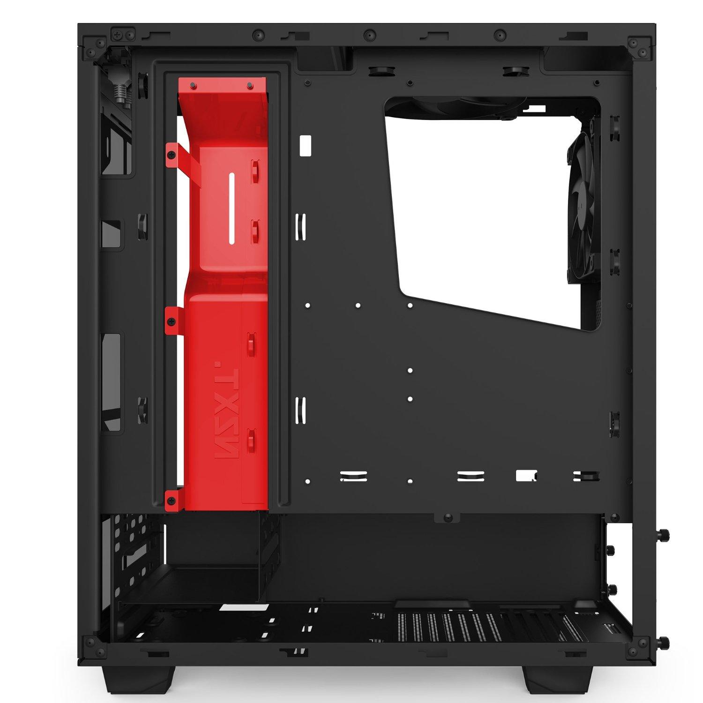 Vỏ máy tính NZXT S340 Black-Red  (Full ATX)