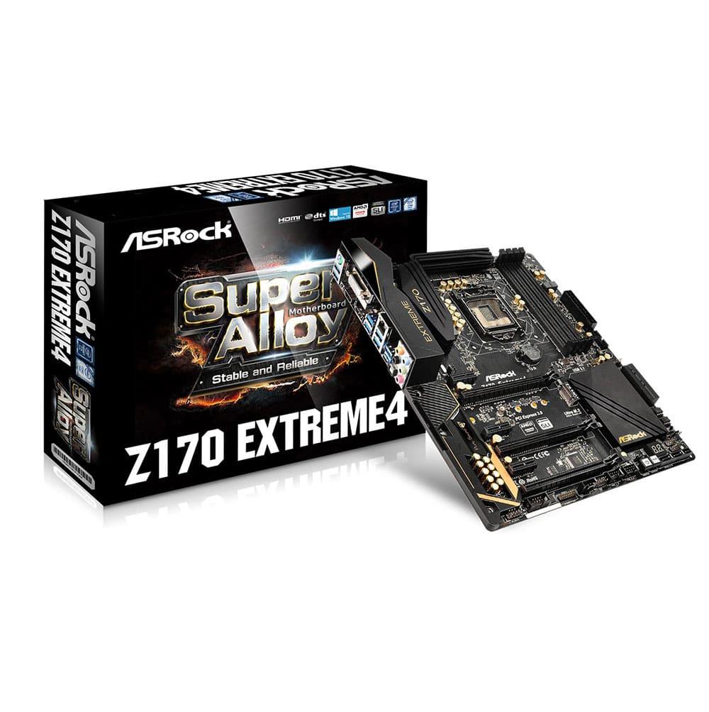Main Asrock Z170 Extreme 4 (Chipset Intel Z170/ Socket LGA1151/ VGA onboard)