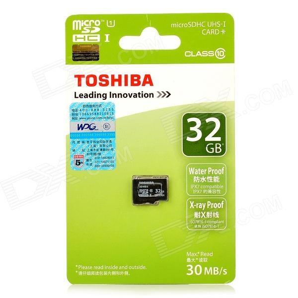Thẻ nhớ Micro SD Toshiba 32Gb Class 10