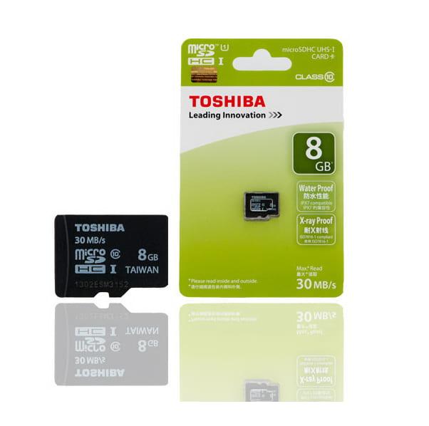 Thẻ nhớ Micro SD Toshiba 8Gb Class 10