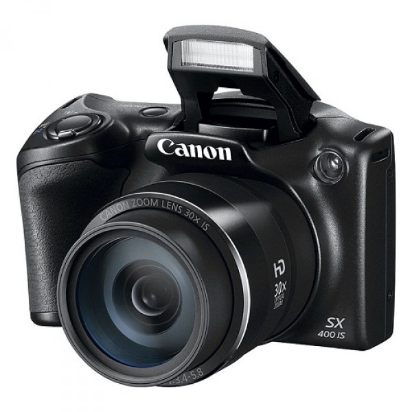 Máy ảnh KTS Canon PowerShot SX400 IS (Hàng chính hãng)  - Black