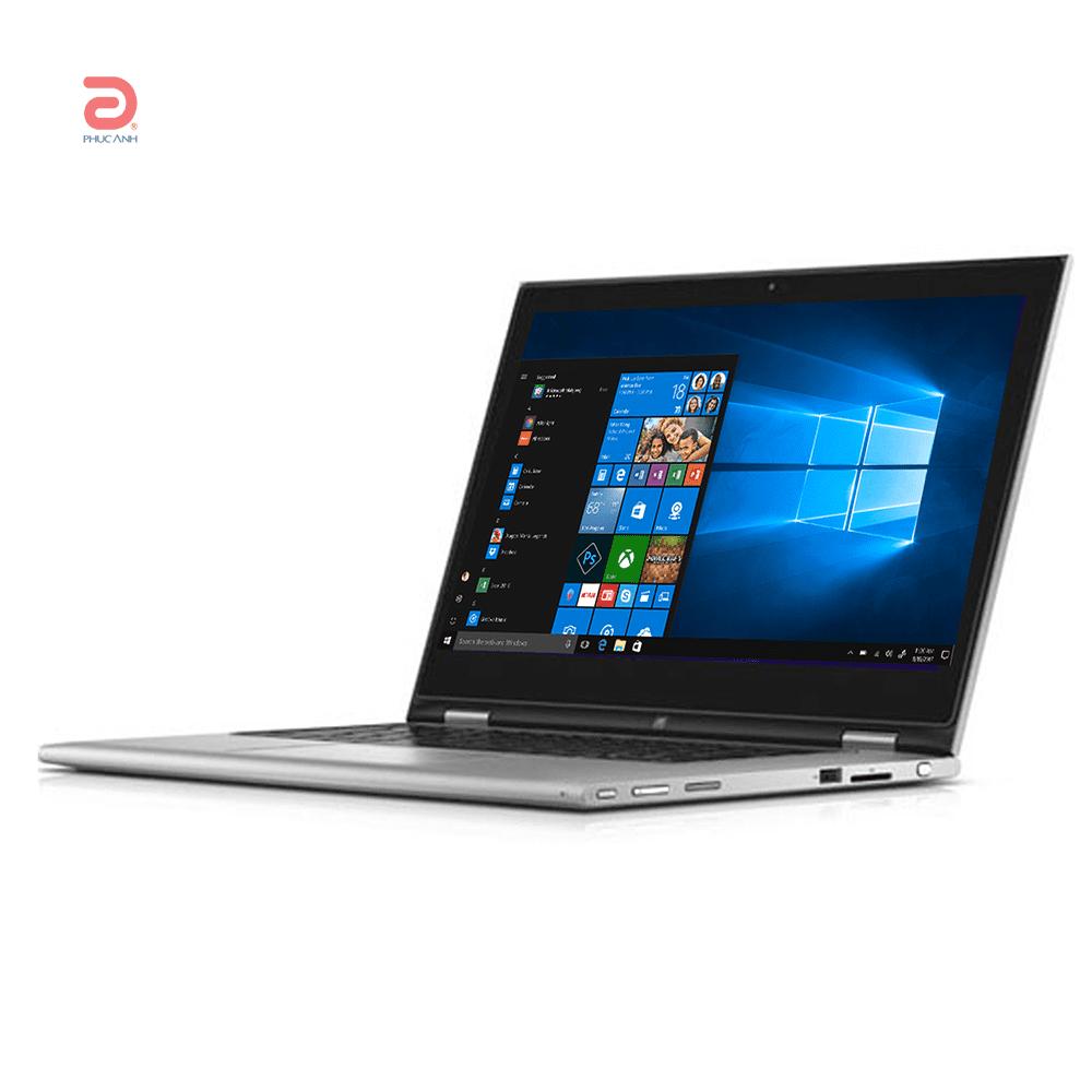 Laptop Dell Inspiron 7348-C3I5610W (Silver)- Màn hình xoay 360 độ