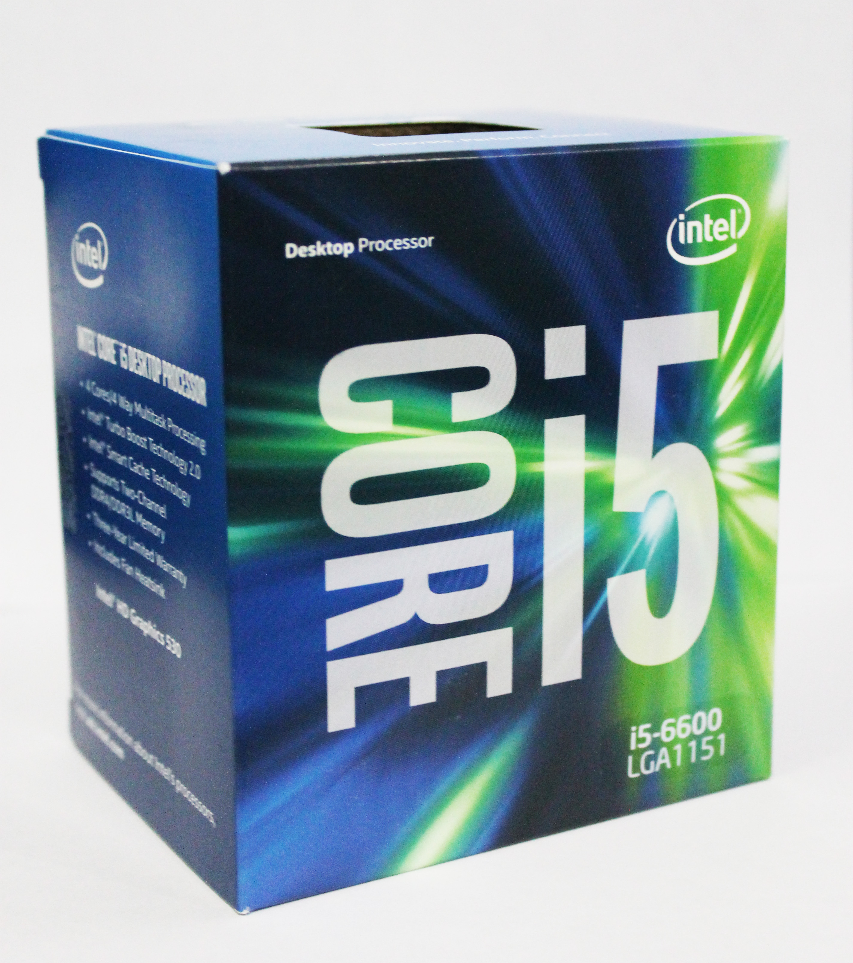 CPU Intel Core i5 6600 (Up to 3.9Ghz/ 6Mb cache)