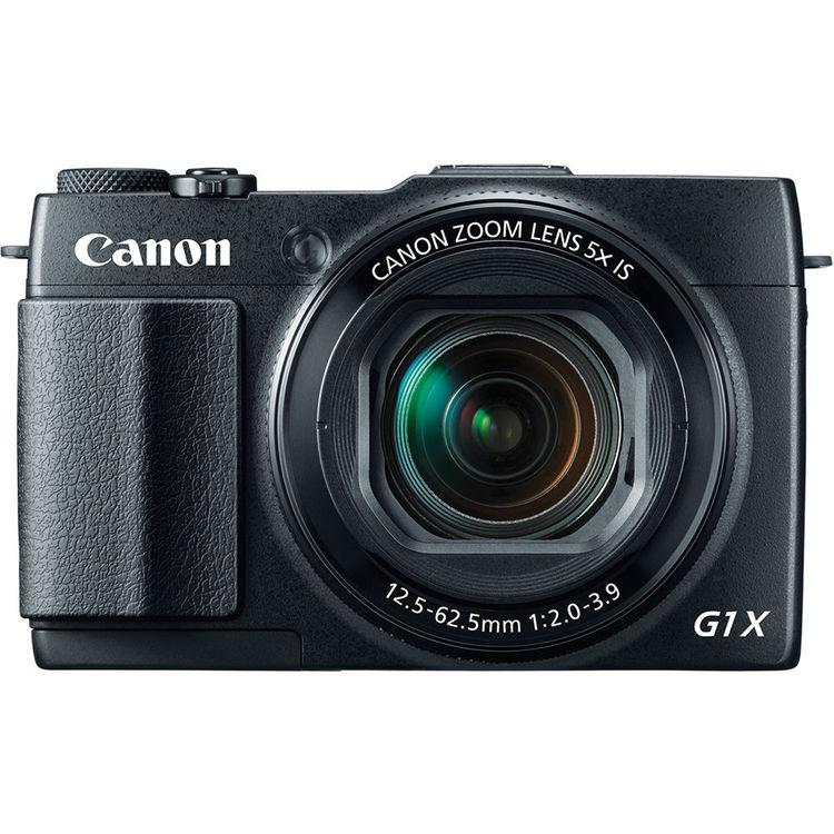 Máy ảnh KTS Canon PowerShot G1X Mark II  - Black